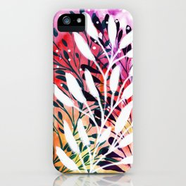 Leafy Abstract iPhone Case