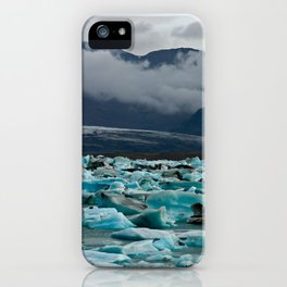 Glacial lake Jokulsarlon - Iceland iPhone Case