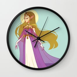 the princess Wall Clock
