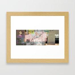 collage winter 2016 Framed Art Print