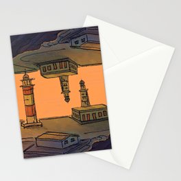 In Love with the Sea / Lighthouses Fuencaliente Stationery Cards