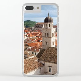 Old Town in Dubrovnik Clear iPhone Case