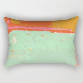 Infinity abstract art print pastel color Rectangular Pillow