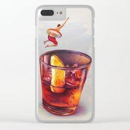 Summer Club Clear iPhone Case