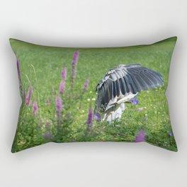 Welcome Heron Rectangular Pillow