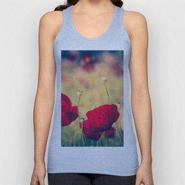 Keokea Poppy Dreams Unisex Tank Top