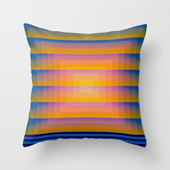 Gradient Fades v.1 Throw Pillow