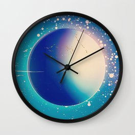 1950 vintage, Space above and beyond Wall Clock
