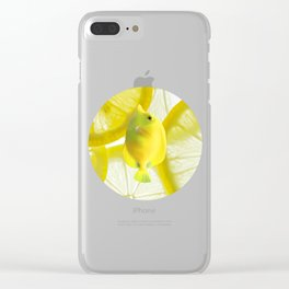 Lemon Fish Clear iPhone Case