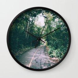 River Valley Path Wall Clock