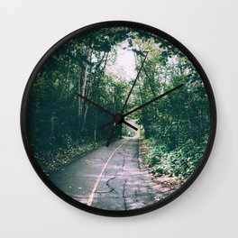 River Valley Path Wall Clock