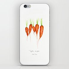 Carrots - Together we grow iPhone & iPod Skin