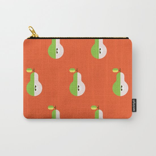 Fruit: Pear Carry-All Pouch