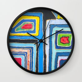 Urban Happiness Wall Clock