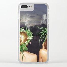 Midsummer Clear iPhone Case