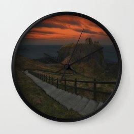 Dunnottar Castle Wall Clock