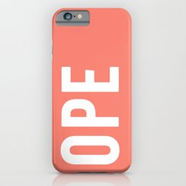 OPE Salmon iPhone Case