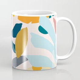 Abstract Floral No.1 Coffee Mug