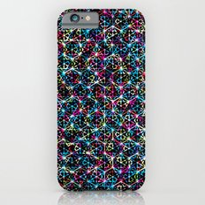 Stardust Geometric Art Print. iPhone 6s Slim Case