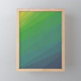 Shades of Deep Water Framed Mini Art Print