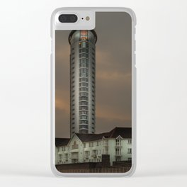 Meridian Tower Swansea Clear iPhone Case