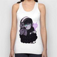 goth Tank Tops featuring Goth Tea by Princess Misery