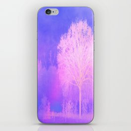 Summer Lilac Hues iPhone Skin