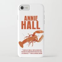 annie hall iPhone & iPod Cases featuring Annie Hall by FunnyFaceArt