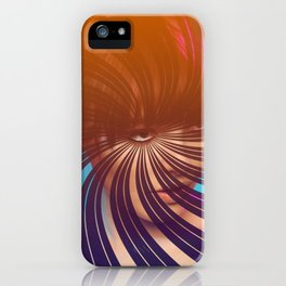 Eye Will Travel Far to See You iPhone Case