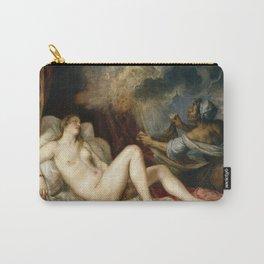 Titian - Danae receiving the Golden Rain Carry-All Pouch