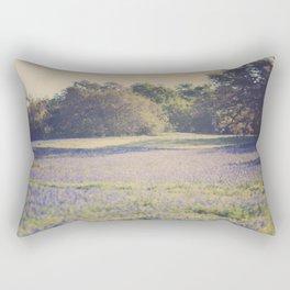 Bluebonnet Morning Rectangular Pillow