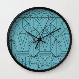 My Favorite Pattern 10 Wall Clock