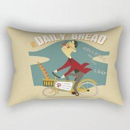 His Daily Bread Rectangular Pillow