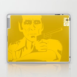 The Man With The Golden Gun Laptop & iPad Skin