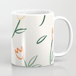Scattered Tulips Coffee Mug