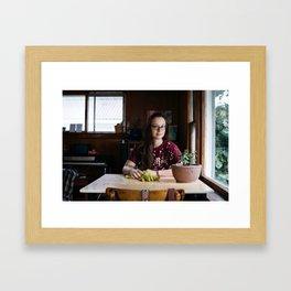 Artists In Jackson: Justine Melville Framed Art Print