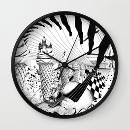 PLEASE, COME IN CONTACT OUR PLANET EARTH Wall Clock