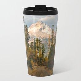 Autumn Mount Hood Scene Travel Mug