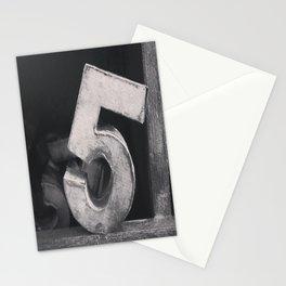 Number Crazy #5 Stationery Cards