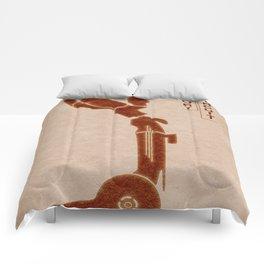 Short Circuit  - MINIMALIST POSTER Comforters