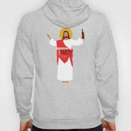Party Jesus Turns Water Into Wine Hoody