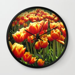Tulips Are Better Than One Wall Clock