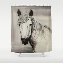 Mustang Shower Curtains