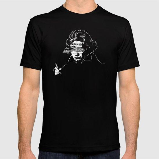 Ludwig van Beethoven · red10 T-shirt