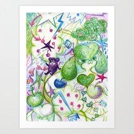 Recycling Love Art Print