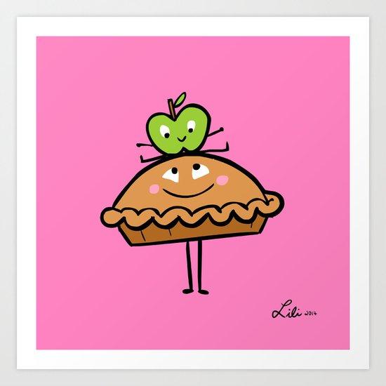 Apple Pie Art Print