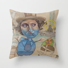 THE BLUEBERRY PROBLEM Throw Pillow