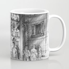 Baroque Church of San Carlo alle Quattro di Fontane in Rome Coffee Mug