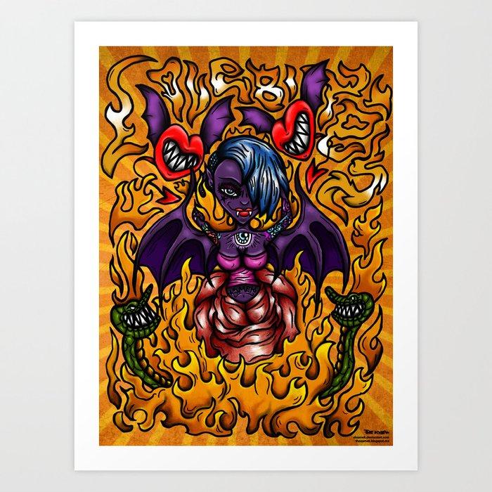 LoveBites Art Print