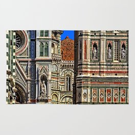 Renaissance Architecture in Florence Rug